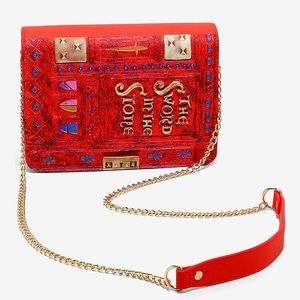 LOUNGEFLY DISNEY SWORD IN THE STONE SHOULDER BAG